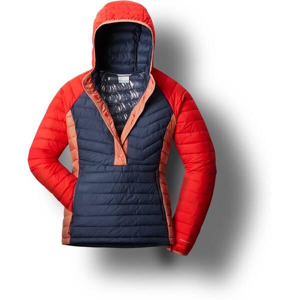 COLUMBIA Damen Powder Lite™ Isolierte Jacke mit Kapuze