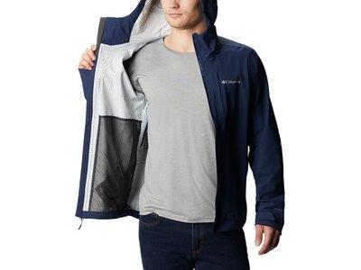 COLUMBIA Herren Regenjacke Omni-Tech Ampli-Dry Shell Blau