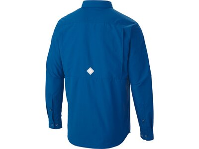COLUMBIA Herren Hemd Cascades Explor Blau
