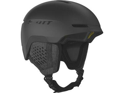 SCOTT Herren Helm Track Plus Schwarz