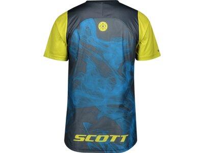 SCOTT Herren Trikot Trail Vertic s/sl Blau