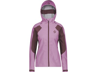 SCOTT Damen Jacke Explorair Ascent Lila