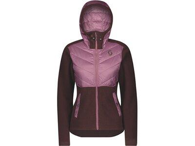 SCOTT Damen Jacke Defined Sherpa Grau