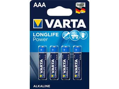 VARTA Akku-Batterie High Energy AAA (Micro) Blau