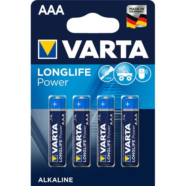 VARTA Akku-Batterie High Energy AAA (Micro)