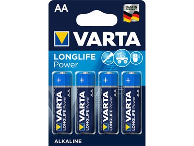 VARTA Batterie High Energy (AA) Mignon Blau