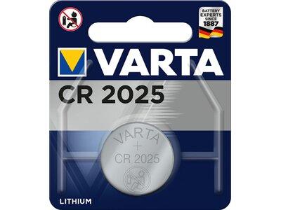 VARTA Akku Batterie Knopfzelle CR 2025 Silber
