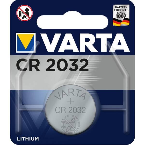 VARTA Akku Batterie Knopfzelle CR 2032