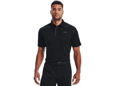 UNDER ARMOUR Herren Polo-Shirt UA Tech Schwarz