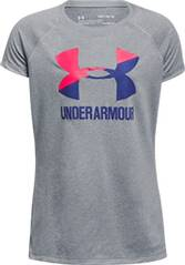 UNDER ARMOUR Girls Trainingsshirt UA Solid Big Logo