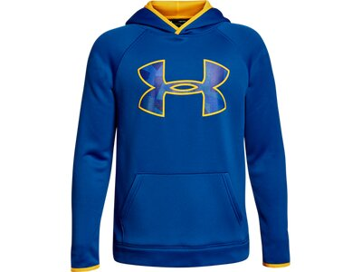 UNDER ARMOUR UNDER ARMOUR Kinder Warm-up Top AF Big Logo Hoody Blau