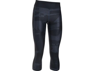 UNDER ARMOUR Damen 3/4-Tight HG Armour Printed Grau