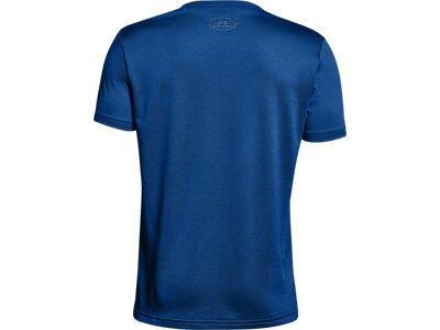 UNDER ARMOUR UNDER ARMOUR Kinder Short-Sleeve Tech Big Logo Solid Tee Blau