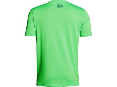 UNDER ARMOUR UNDER ARMOUR Kinder Short-Sleeve Tech Big Logo Solid Tee Grün