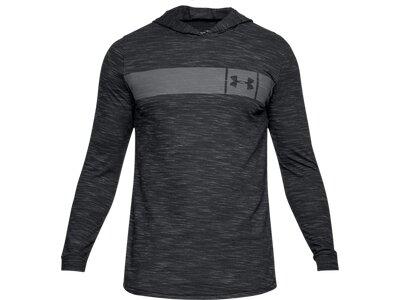 UNDERARMOUR Herren Fitness-Shirt Langarm Grau