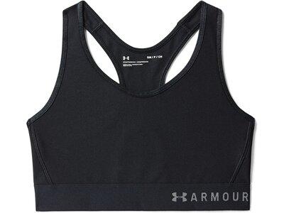 UNDER ARMOUR Damen Sport-BH Armour®Mid Schwarz