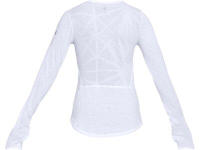 UNDER ARMOUR UNDER ARMOUR Damen Long-Sleeve UA Swyft Longsleeve Weiß