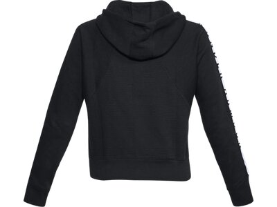 UNDER ARMOUR UNDER ARMOUR Damen Warm-up Top Cotton Ridge Fleece FZ Schwarz