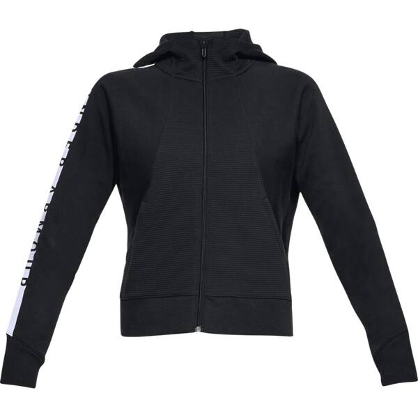 UNDER ARMOUR UNDER ARMOUR Damen Warm-up Top Cotton Ridge Fleece FZ