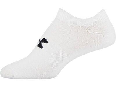 UNDER ARMOUR Damen Socken Essential Weiß