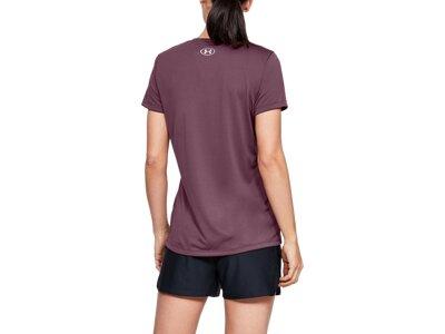 UNDERARMOUR Damen Fitness-Shirt Kurzarm Braun