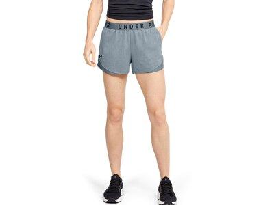 UNDER ARMOUR Damen Shorts Play Up 3.0 Twist Braun