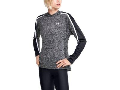 UNDER ARMOUR Damen Sweatshirt Tech Twist Schwarz