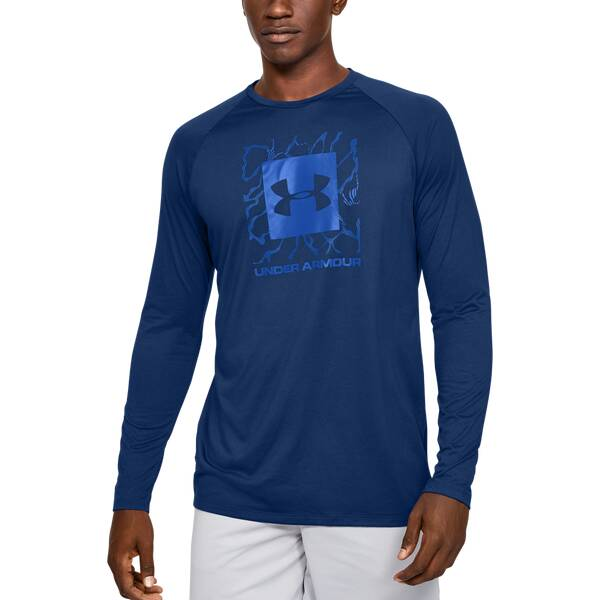 UNDER ARMOUR Herren Langarmshirt TECH 2.0 GRAPHIC