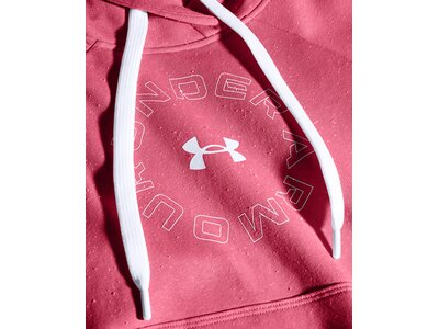 UNDER ARMOUR Damen Kapuzensweat Rival Pink
