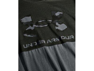 UNDER ARMOUR Herren T-Shirt CAMO BIG LOGO Grün