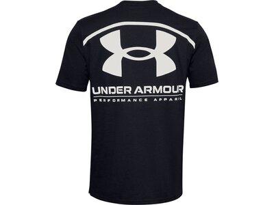 UNDER ARMOUR Herren T-Shirt PERFORMANCE BIG LOGO Schwarz