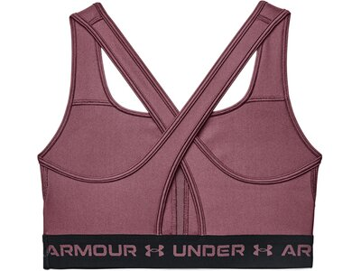 UNDER ARMOUR Damen Sport-BH Armour® Mid Crossback Lila