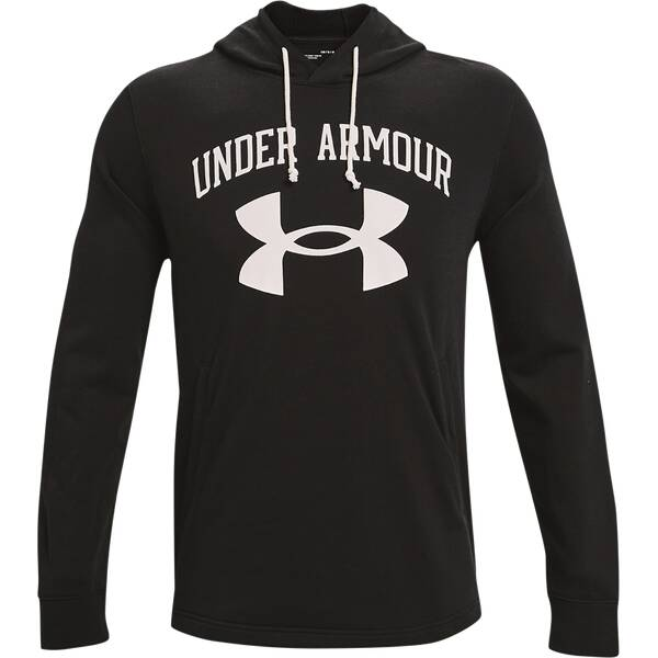 UNDER ARMOUR Herren UA Rival Big Logo Hoodie aus French Terry