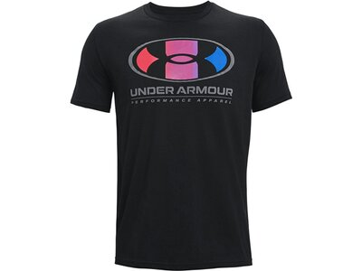 UNDERARMOUR Herren T-Shirt Schwarz