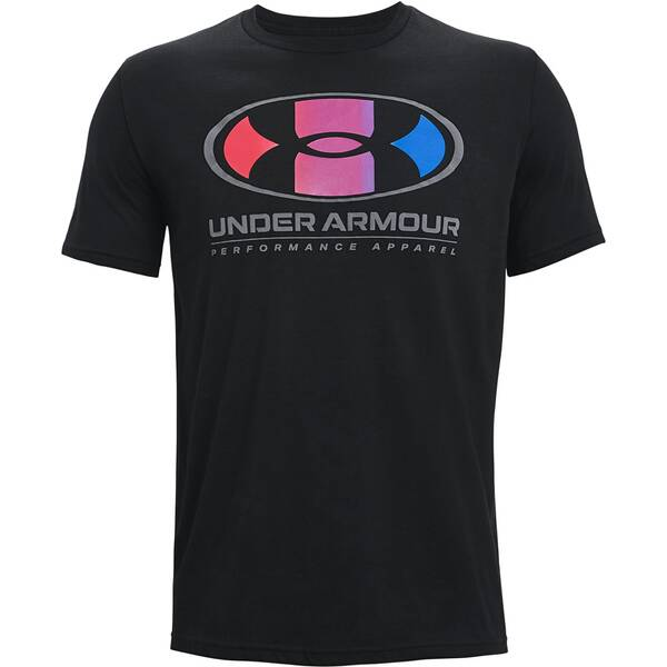 UNDER ARMOUR Herren UA Multi Color Lockertag Kurzarm-Oberteil