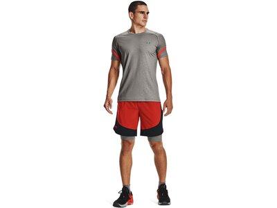 UNDER ARMOUR Herren Shorts Herren Shorts HIIT Woven Colorblock Orange