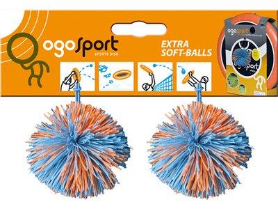 Ogo Sport® Ersatzbälle 2er Pack Orange