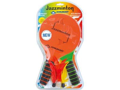 SCHILDKRÖT JAZZMINTON Set (2 Schläger +3 Birdie´s im Blister) Bunt