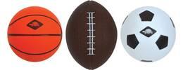 Vorschau: SCHILDKRÖT 3 in 1 MINI BALLS SET, 1 Soccer-, 1 Basket-, 1 Football