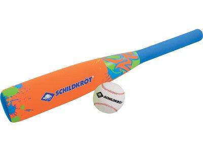 Schildkröt Kinder Neopren Baseball-Set Blau
