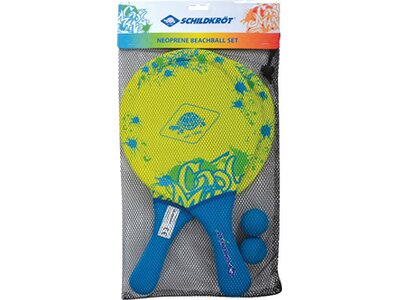 Schildkröt Neopren Beachball Set Blau
