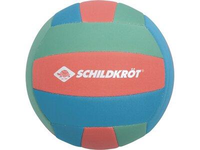 SCHILDKRÖT Ball NEOPREN BEACH BALL TROPICAL Blau