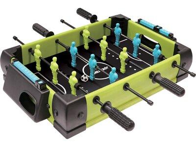 SCHILDKRÖT Tischspiel MINI KICKER (Spielfläche 40 x 27cm) Grau