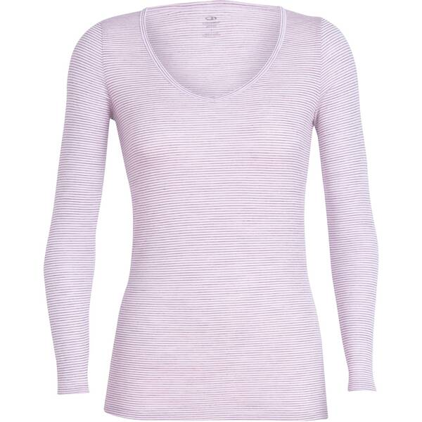 "ICEBREAKER Damen T-Shirt ""Siren Long Sleeve Sweetheart"""