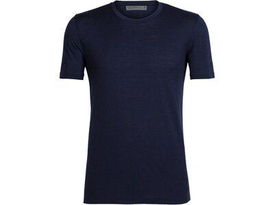 ICEBREAKER Merino Herren T-Shirt Tech Lite SS Crewe Schwarz