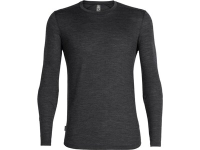 ICEBREAKER Herren T-Shirt Sphere LS Crewe Grau