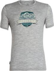 ICEBREAKER Herren T-Shirt Tech Lite SS Crewe Cook Crest