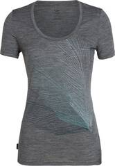 ICEBREAKER Damen T-Shirt Tech Lite SS Scoop Plume