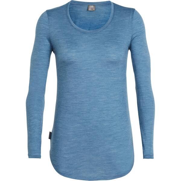 ICEBREAKER Damen T-Shirt Solace LS Scoop