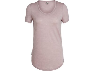 ICEBREAKER Merino Damen T-Shirt Solace Pink